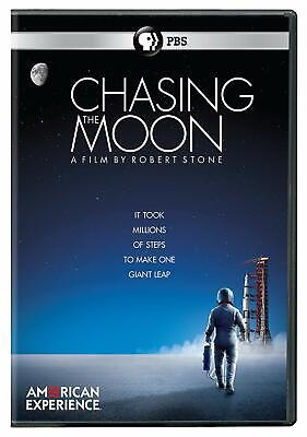 American Experience Chasing the Moon Robert Stone DVD PBS Distribution discs 3