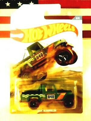 2019 Hot Wheels Off Road Truck Series JEEP SCRAMBLER ***HTF***