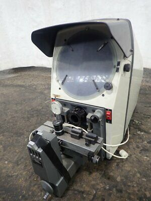 """Gage Master 25 Optical Comparator 12"""" Screen  4"""" X 14"""" Table 04190320001"""