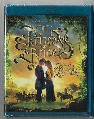 New Sealed BLU-RAY - THE PRINCESS BRIDE - 25th Anniversary  - Also In French