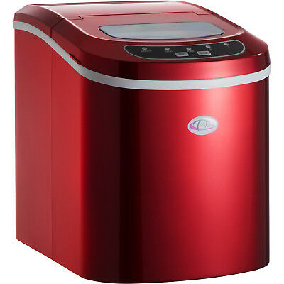 Brand New Ice Cube Maker Machine for Drinks Cocktails Bars Red new