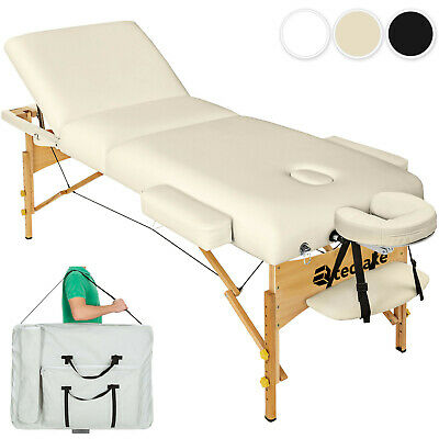 Luxury Portable Folding Massage Table Therapy Beauty Bed 10cm Padding + Bag new
