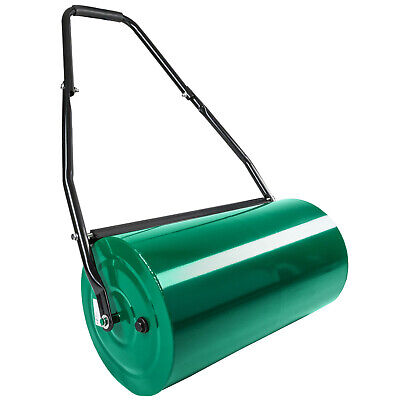 Heavy duty 60cm metal steel garden grass lawn roller sand water filled 50L  new