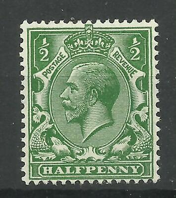 1912/22 Royal Cypher Sg 353, 1/2d Deep Green, LM/Mint with gum{TT1449-347}