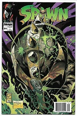 Spawn #31 Newsstand Variant Nm- 1995 Greg Capullo Todd Mcfarlane Image Comics