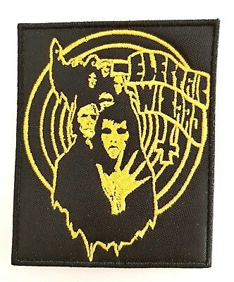 ELECTRIC WIZARD ( Ghouls   ) EMBROIDERED  PATCH
