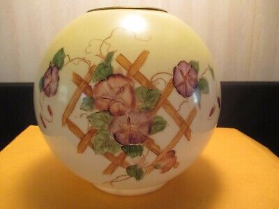 "Antique 8"" Ball Floral Lamp Shade"