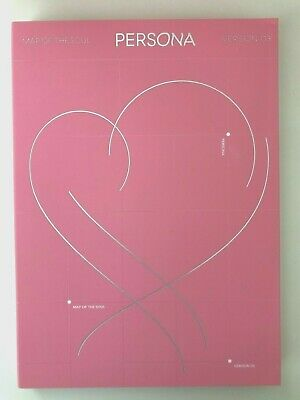 Official BTS Map of the Soul: Persona ver 3 Album + Postcard + Poster + Bookmark