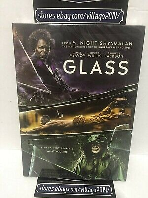 Glass (Dvd, 2019) Brand New - Free  Shipping!!!