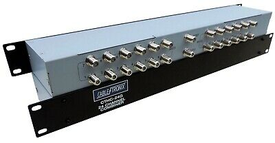 CableTronix CTHC-24G Passive Headend 24 Channel Combiner 1U * NEW *