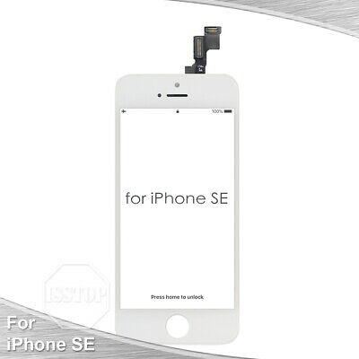 White iPhone SE LCD Display Touch Screen Digitizer Frame Replacement A1723 A1662