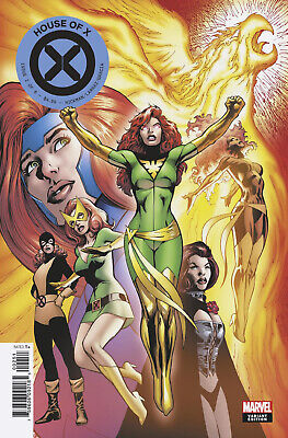 House Of X #2 (Of 6) Davies Character Decades Variant (07/08/2019)