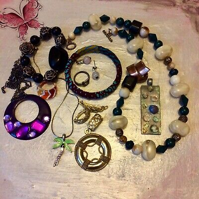 Job Lot Vintage Costume Jewellery House Clearance No Reserve