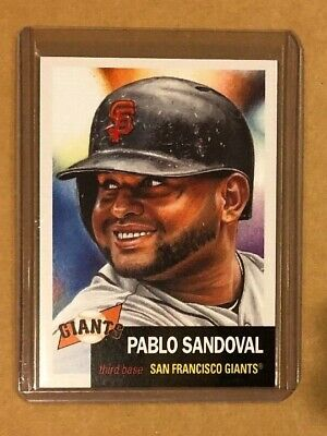 2019 Topps Living Set Pablo Sandoval # 204. Lowest Print Run Of Series 2574 (3)