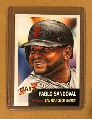 2019 Topps Living Set Pablo Sandoval # 204. Lowest Print Run Of Series 2574 (5)