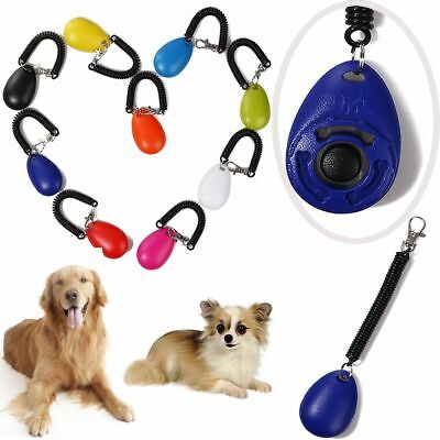 Puppy Button Practical Sound Dog Whistle Wrist Strap Plastic Pet Training Tool