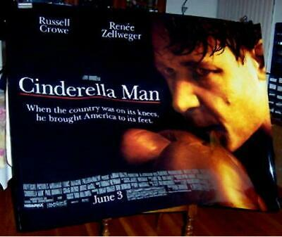 CINDERELLA MAN 5FT Subway movie POSTER RUSSELL CROWE BOXING 2005