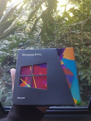 WINDOWS 8 PRO SOFTWARE  - 32 & 64 bit - everything included in original packing