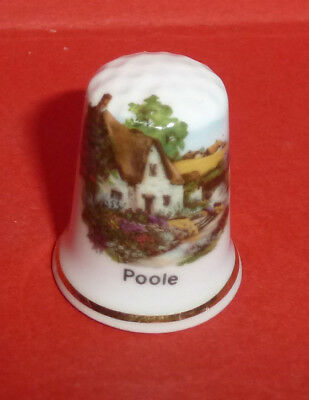 POOLE Thimble Coastal Resort Town and Seaport Harbour Dorset Thatched Cottage