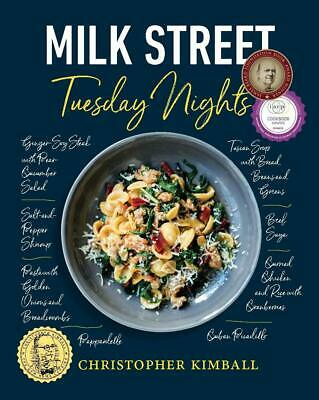 Milk Street: Tuesday Nights More than 200 Christopher Kimball Hardcover NEW