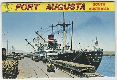 Australia - Pull Out Scenes Of Port Augusta - By Nu-Color-Vue