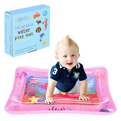 Inflatable Baby Water Mat Fun Activity Play Center For Children And Infants Pad