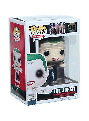 Funko Pop Suicide Squad The Joker Shirtless Vinyl Figure Collection Model Toys