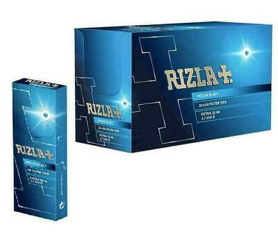 RIZLA Polar Blast Filter Tips Extra Slim Crushball Menthol 5.7mm Smoking Rolling