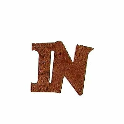 Rusty Tin in Word Cutout   Package of 24 Pieces