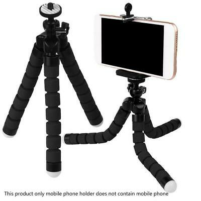 Black Universal Octopus Stand Tripod Mount Holder für Samsung iPhone Cell-Phone