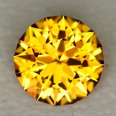 CUSTOM CUT - 4.81ct - ORANGE CITRINE - BRAZIL - WATCH THE VIDEO