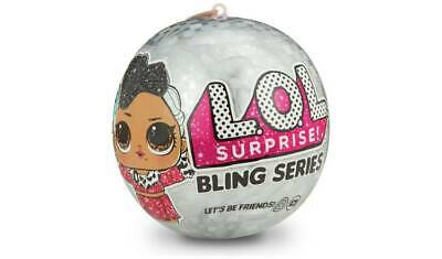 LOL Surprise Bling Ornament Ball With A Clear Front To Display Dolls Or Decorate