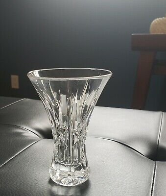 "Beautiful Waterford Lismore Cut Crystal  4 - 1/2"" Tall Vase"