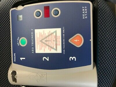 Philips HeartStart AED Trainer 2 with case and pads BRAND NEW GREAT DEAL