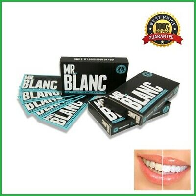 Mr Blanc Teeth Whitening Strips ✅ Professional ✅ 14 Sachets (2 week supply) ✅ UK