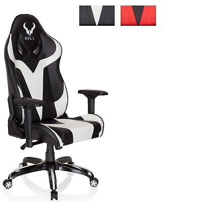 Gaming Chair Office Chair Racing Swivel Chair PU Leather PROMOTER I hjh OFFICE