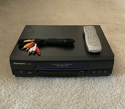 Panasonic VCR With Remote PV-9455S 4 Head Hi-Fi Stereo VHS Player Video Recorder