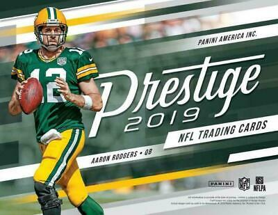 2019 Panini Prestige Xtra Points Blue NFL Football Cards Pick From List 1-150
