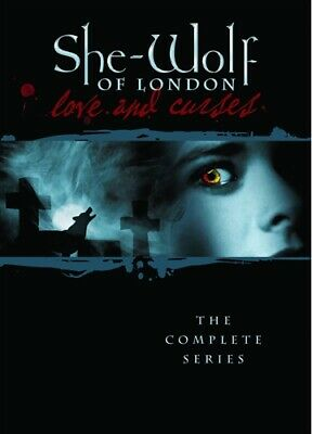 SHE-WOLF OF LONDON COMPLETE TV SERIES New Sealed 4 DVD Set