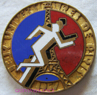 Bg10237 - Insigne Badge Jeux Universitaires De Paris 1957