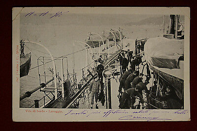 Regia Marina Life by Edge Wash, 1905 Viaggiata #14260