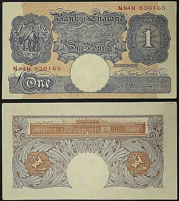 England Great Britain 1 One Pound 1940 - 48 Pick# 367 to #B1056