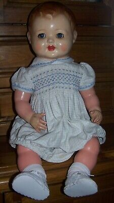 GERMAN FLIRTY EYED PUZ TYPE DOLL - CIRCA 1930's