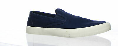 Sperry Top Sider Mens Captains Slip  On Navy Fashion Sneaker Size 10.5 (196804)