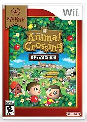 Nintendo Wii Animal Crossing City Folk Nintendo Selects Brand New And Sealed