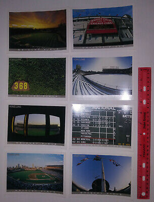 Chicago Cubs Vine Line 2001 Postcards (total of 8 cards) - MLB - Wrigley Field