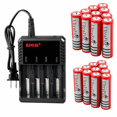 UltraFire 3000mAh 18650 Battery 3.7V Li-ion Rechargeable Batteries For Torch LOT