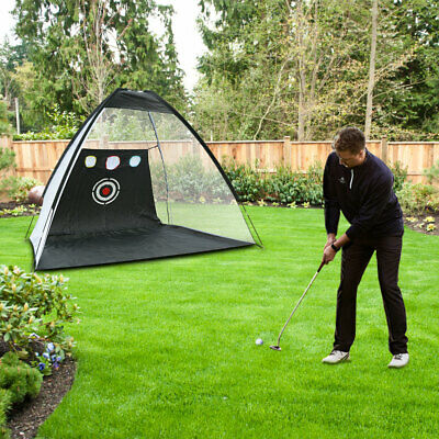 Foldable Golf Practice Driving Net Chipping Hitting Net Aid Training Cage XC804
