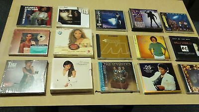 Large lot of rare R&B reggae albums pop rock disco compilation CDs many imports