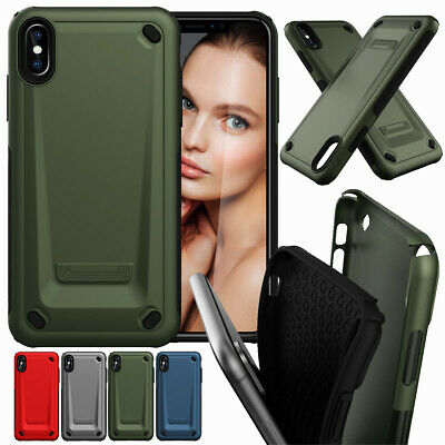 For iPhone XS Max XR X 8 7 6 6S Plus Heavy Duty Drop Shock Proof  Case Cover